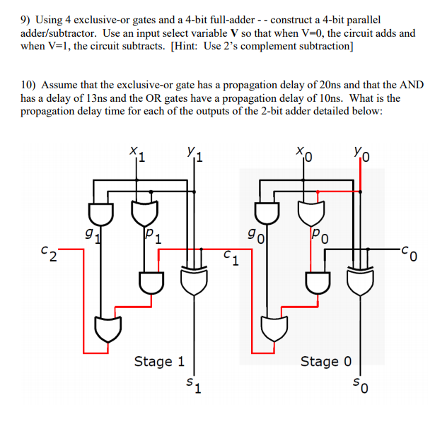 2 S Complement Adder Subtractor Circuit New Media Of Wiring