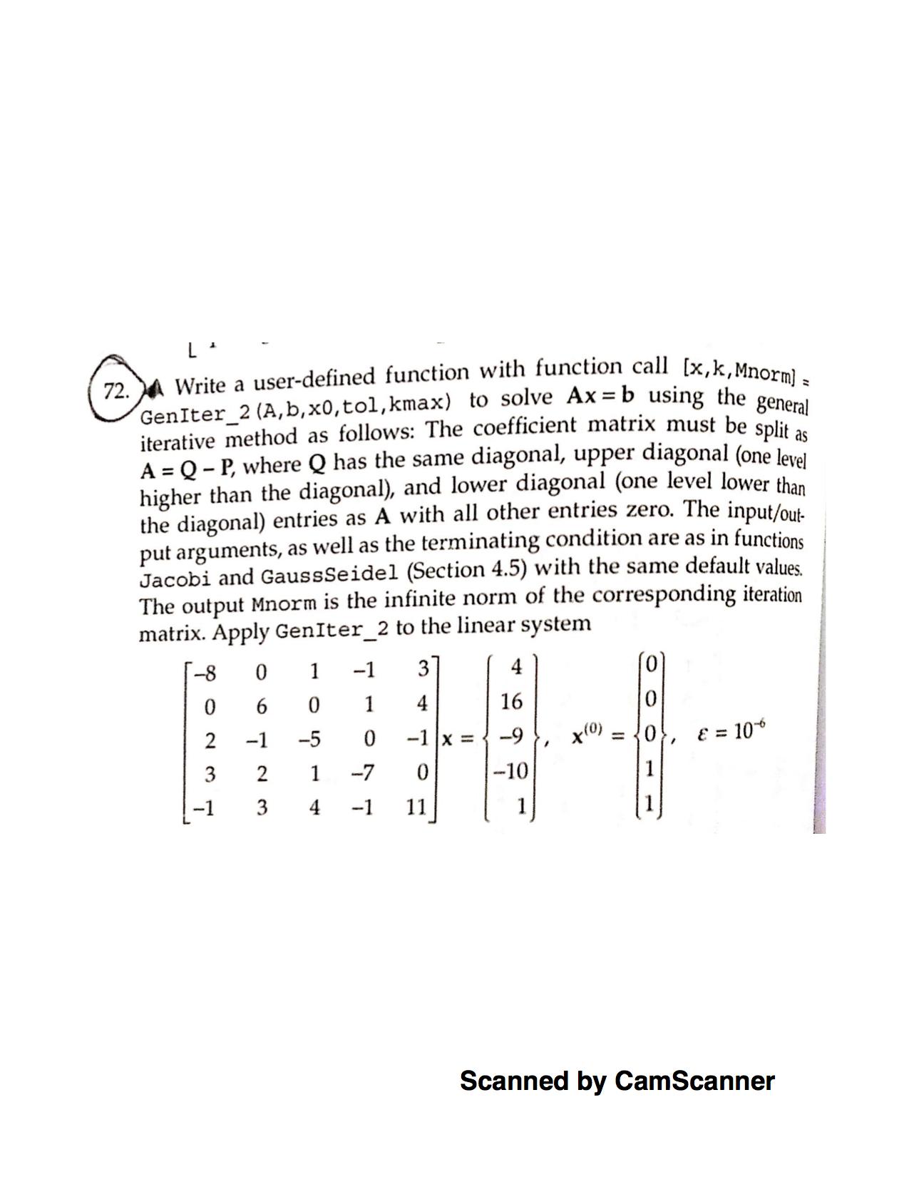 Numerical Methods/Interpolation
