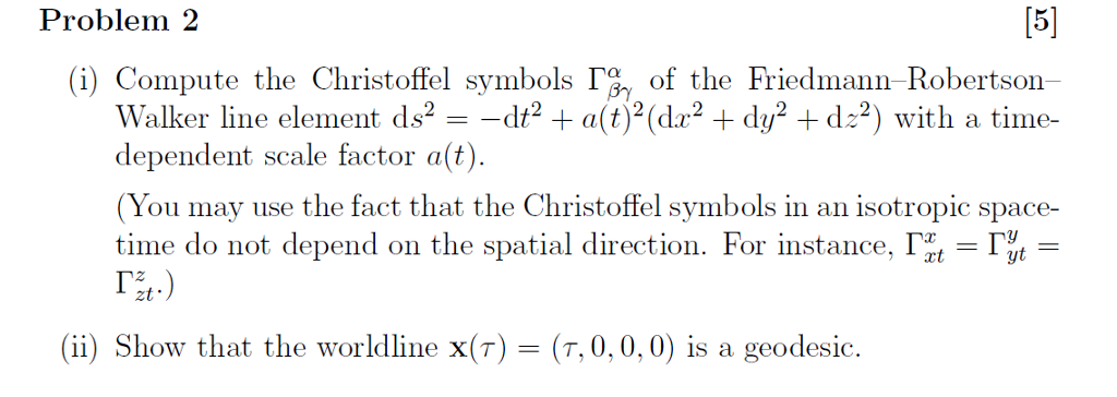 Calculate Christoffel Symbols Examples Image Collections Free