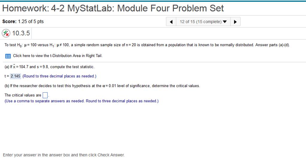 Statistics and probability archive february 03 2018 chegg homework 4 2 mystatlab module four problem set score 125 of 5 fandeluxe Gallery