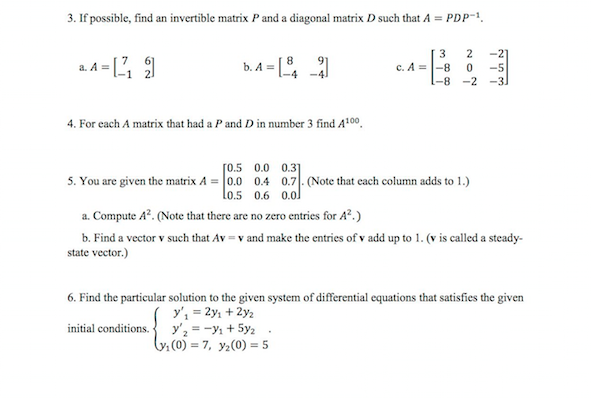 invertible matrix sample question paper