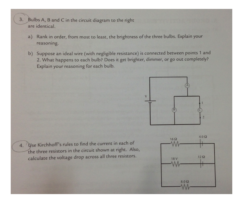 ab c d circuit diagram solved: bulbs a, b and c in the circuit diagram to the rig ... r c oscillator circuit diagram