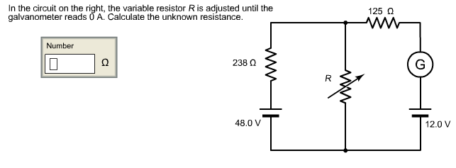 Solved In The Circuit On The Right The Variable Resistor