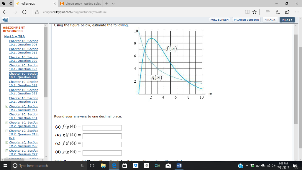 Solved: Using The Figure Below, Estimate The Following  Ro