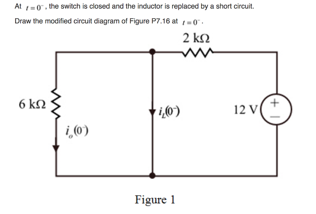 solved why there is no current flow through the resistor rh chegg com