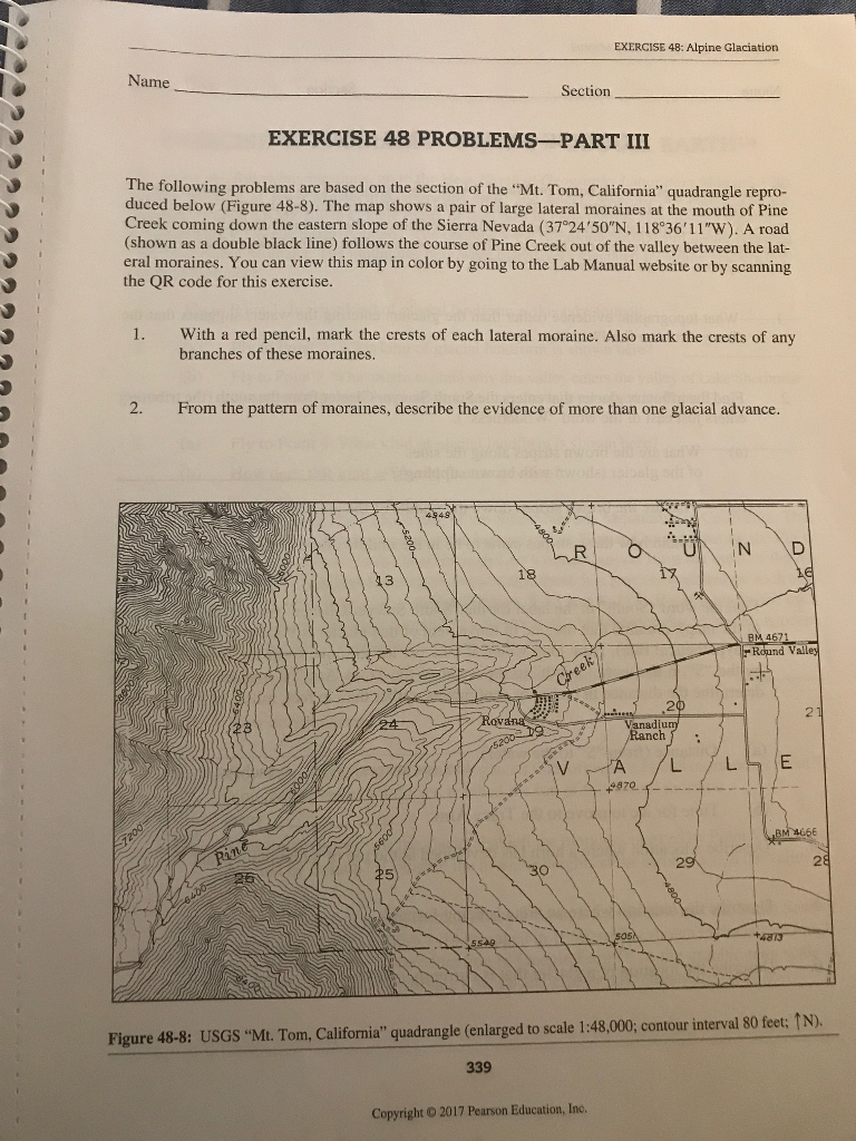 see more Show transcribed image text Physical Geography Laboratory Manual  walker Lake Bottom Direction of Fifth C Step Fourth Step Sardine Mon Step  Lak Su ...
