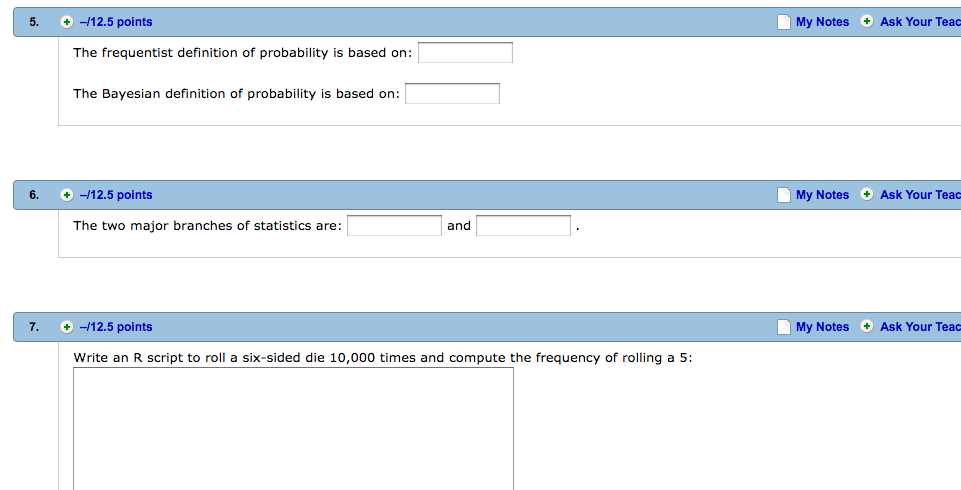 Solved: The Frequentist Definition Of Probability Is Based