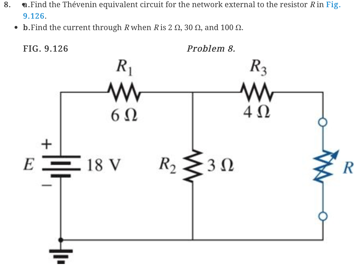 solved  find the thevenin equivalent circuit for the netwo