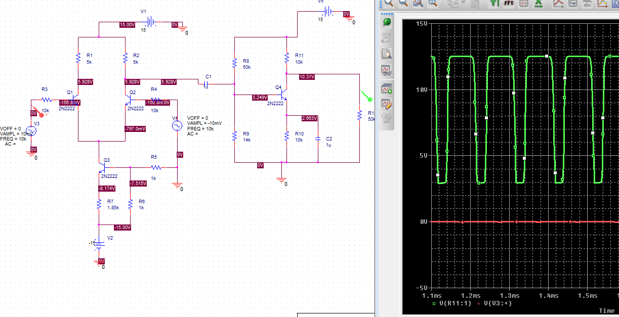 Use PSPICE To Design A Multistage Amplifier Using