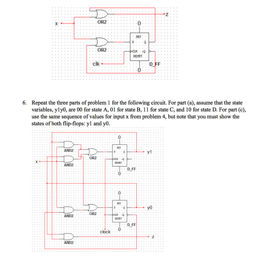 Solved 1 Using The Design Procedures Taught In Class De 0 9 Counter Circuit Diagram A Synchronous Modulo 10 Jk Flip Flops This Is To Count From And