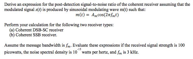 noise spectral density