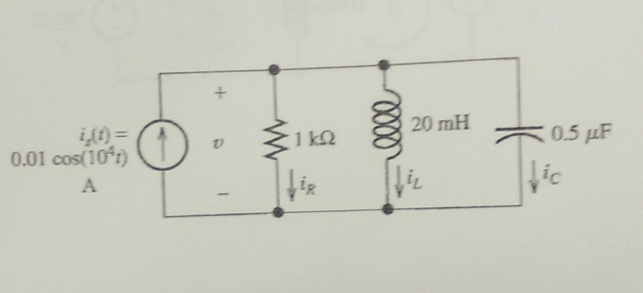 solved  the circuit shown has labeled time domain circuit