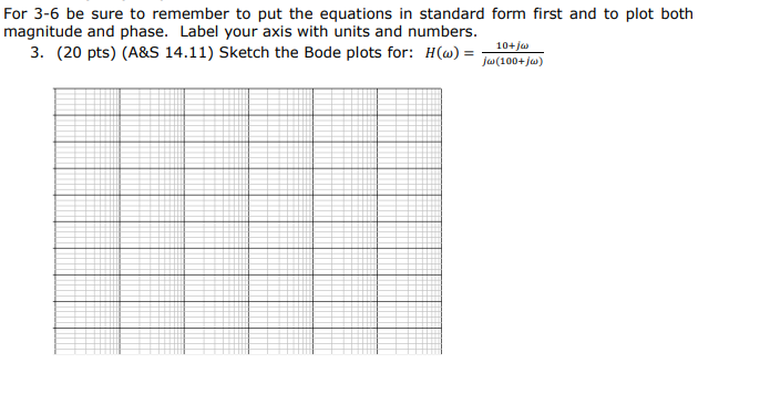 Solved For 3 6 Be Sure To Remember To Put The Equations I