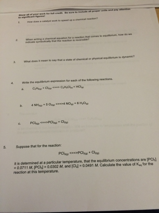 how does a catalyst work to speed up a chemical re chegg com