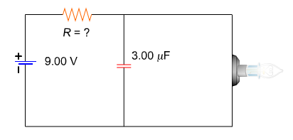 Capacitor Circuit Diagram | Solved The Circuit Diagram For A Simple Flashing Light Is