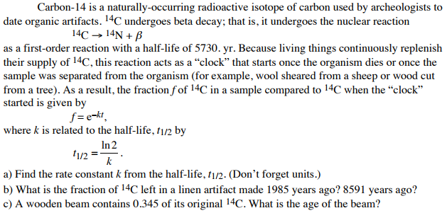 isotope of carbon that is used for dating things in archeology we used to hook up