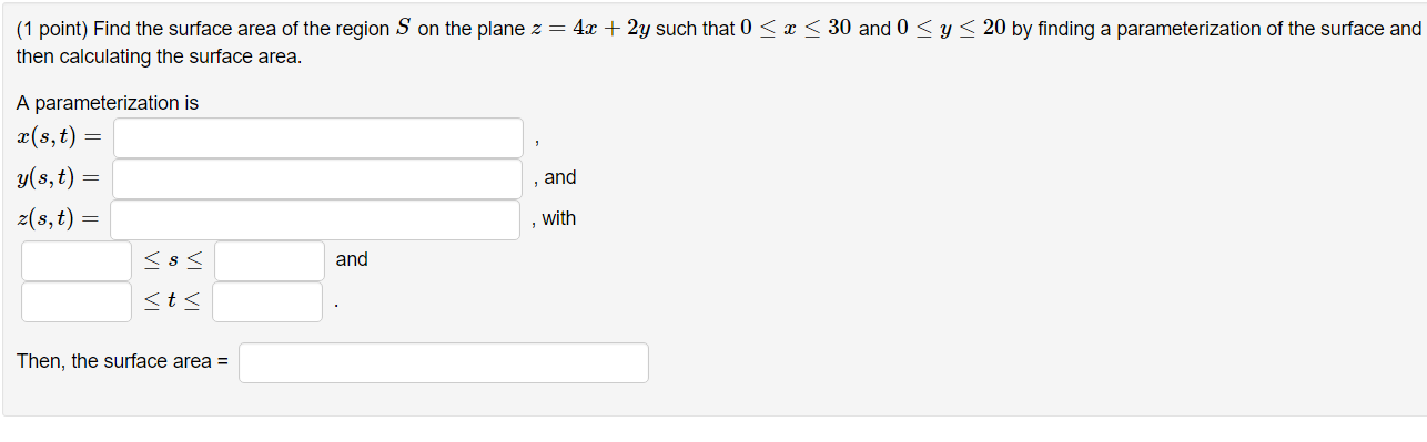 area of plane regions and volume One use of the single variable integral is calculate the area under a curve $f(x)$ over  $ over a region $\dlr$ can be interpreted as the volume under the.