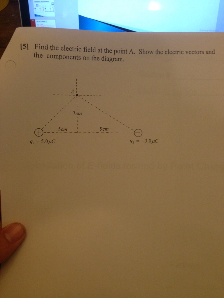 15l Find the electric field at the
