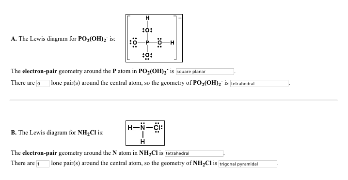 Solved The Lewis Diagram For Po2oh2 Is The Electro