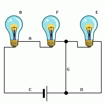 Consider The Circuit Above, Which Has Three Light