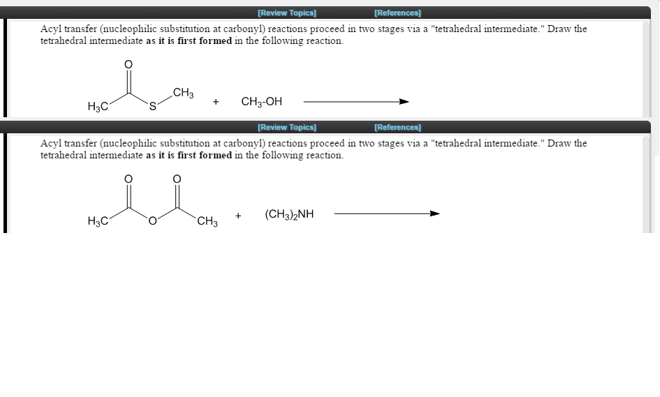 nucleophilic substitution at the carbonyl carbon Carbonyl fundamentals o nucleophilic carbonyl substitution: nucleophile may be sterically hindered from attacking the carbonyl carbon and thus nucleophilic.