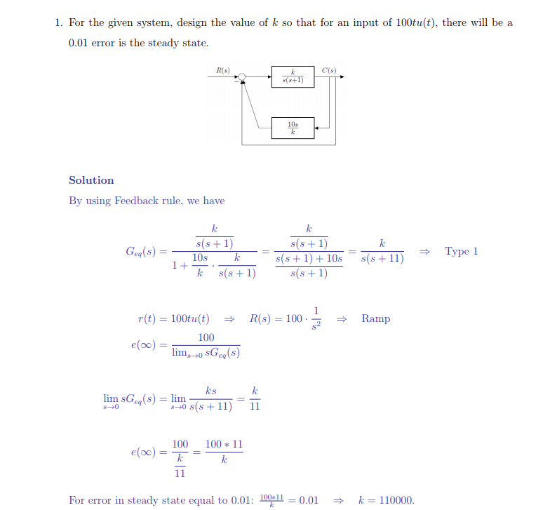 Solved answer the following control system question relat here is an example of a similar question to assist ccuart Gallery