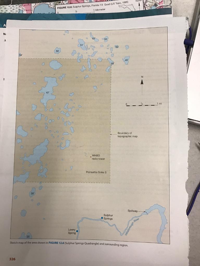 Florida Aquifer Map.Solved 12 3 Floridan Limestone Aquifer Activity Name Date