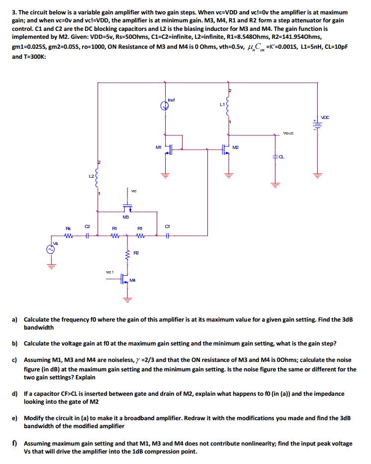 Sensational Variable Amplifier Impedance Diagram Basic Electronics Wiring Diagram Wiring 101 Archstreekradiomeanderfmnl