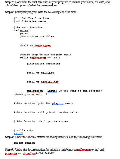 Solved: Step 1: Start The IDLE Environment For Python  Pri