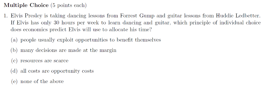 forrest gump questions