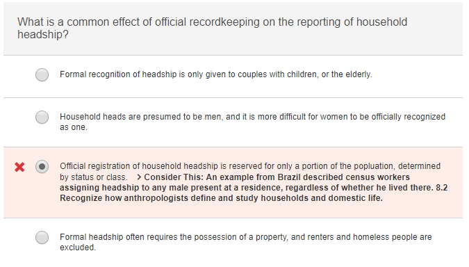 Question: What Is A Common Effect Of Official Recordkeeping On The  Reporting Of Household Headship? Formal .  What Is Presumed