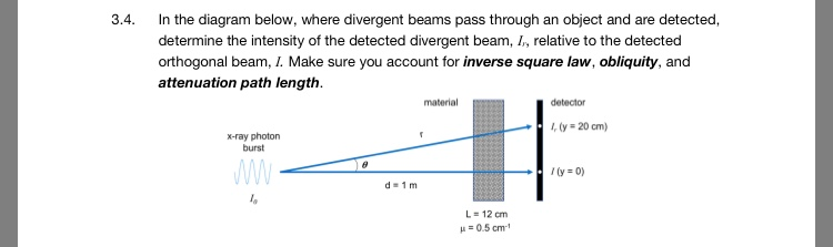 Physics archive march 12 2018 chegg in the diagram below where divergent beams pass through an object and are ccuart Image collections