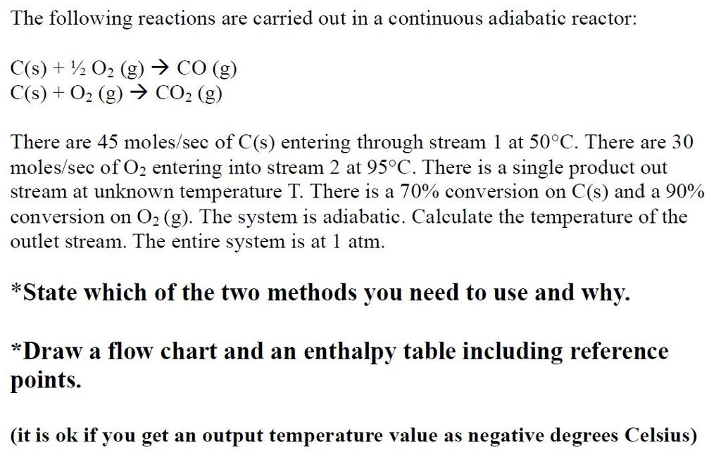 Chemical Process Calculations II******* Chapt    | Chegg com