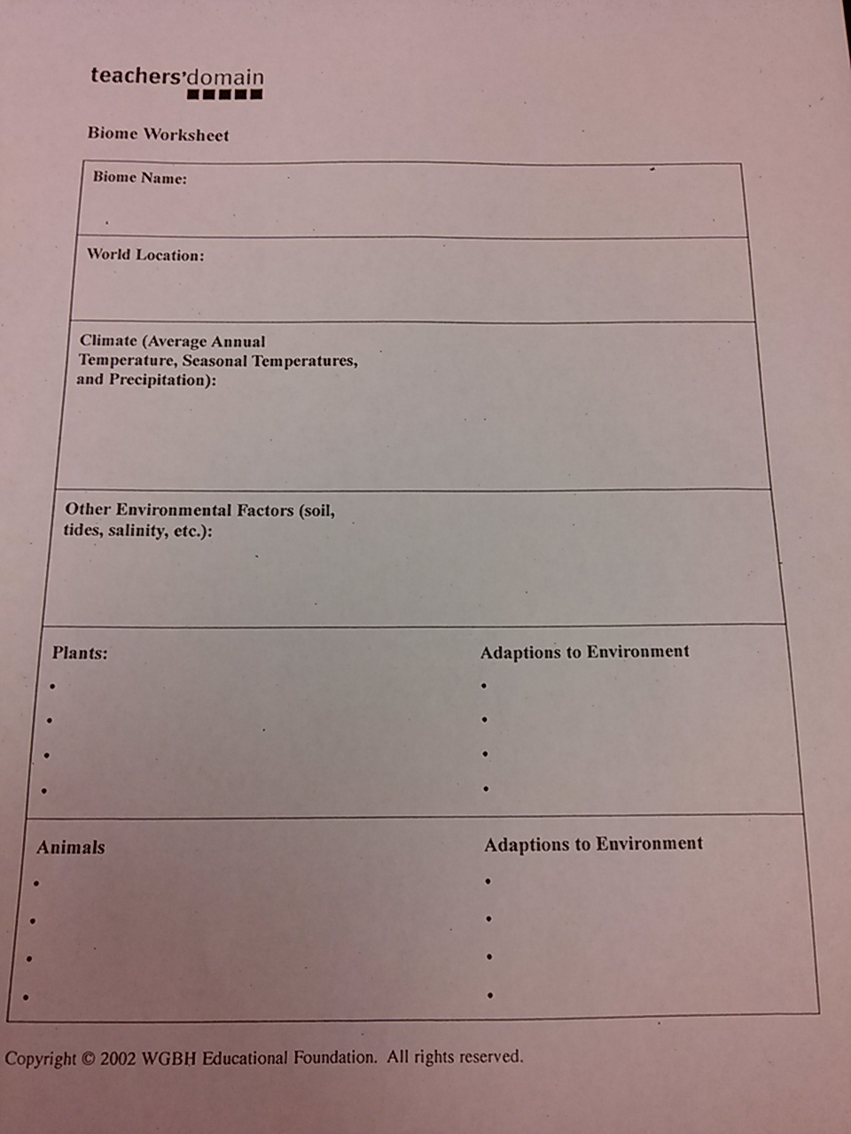 Worksheets Biomes Worksheet solved biomes worksheet total 6 in form below pl question plz help