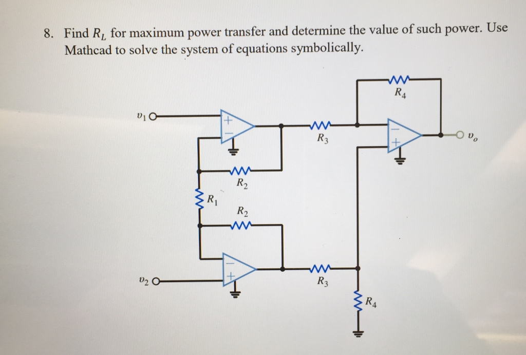 Find Ri For Maximum Power Transfer And Determine T Chegg