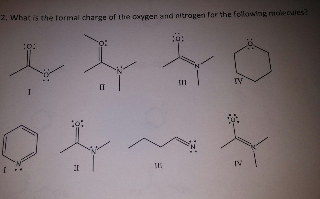 What is the formal charge of the
