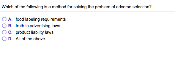 Solved: Which Of The Following Is A Method For Solving The
