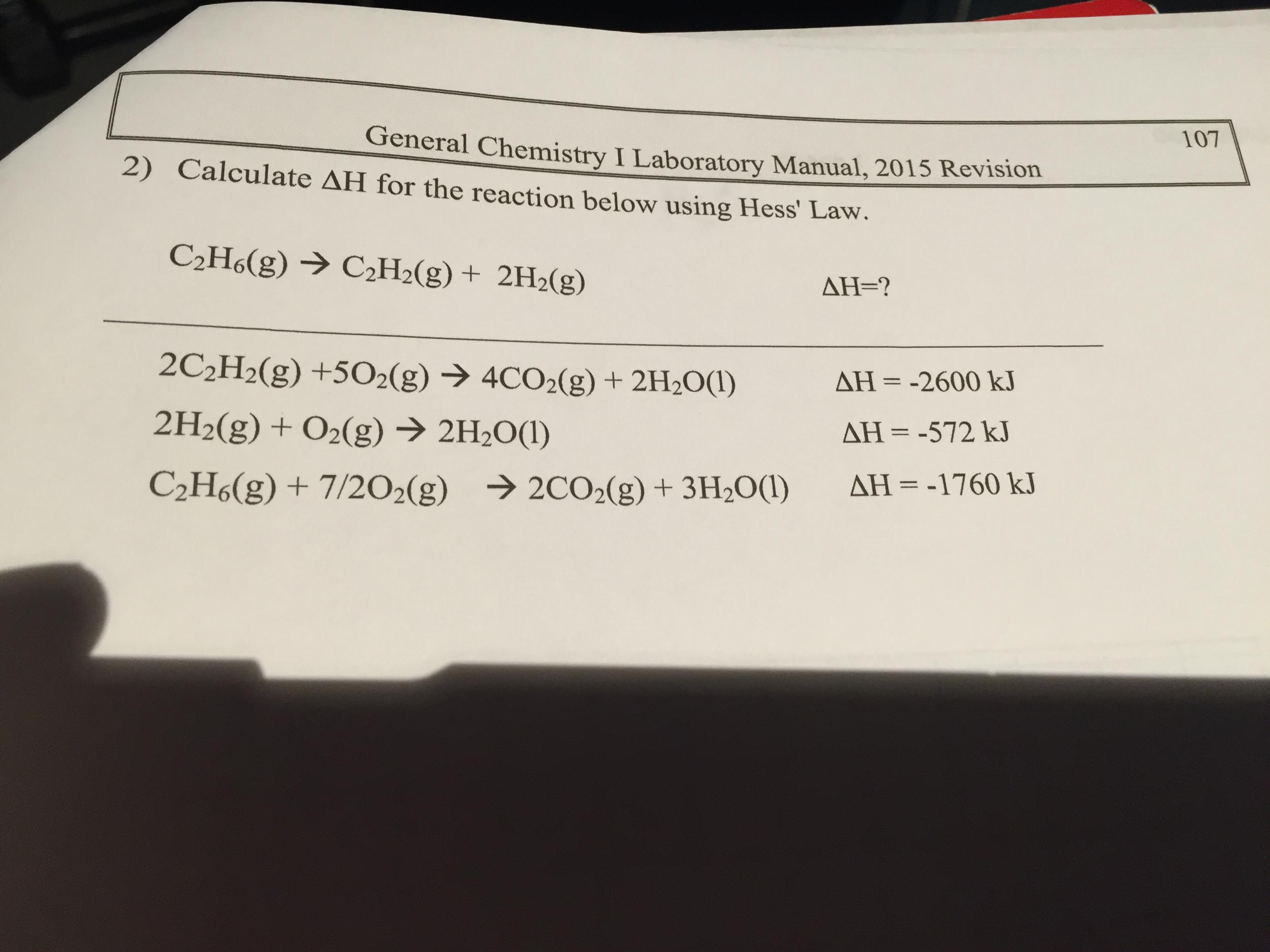 General Chemistry I Laboratory Manual, 2015 Revisi