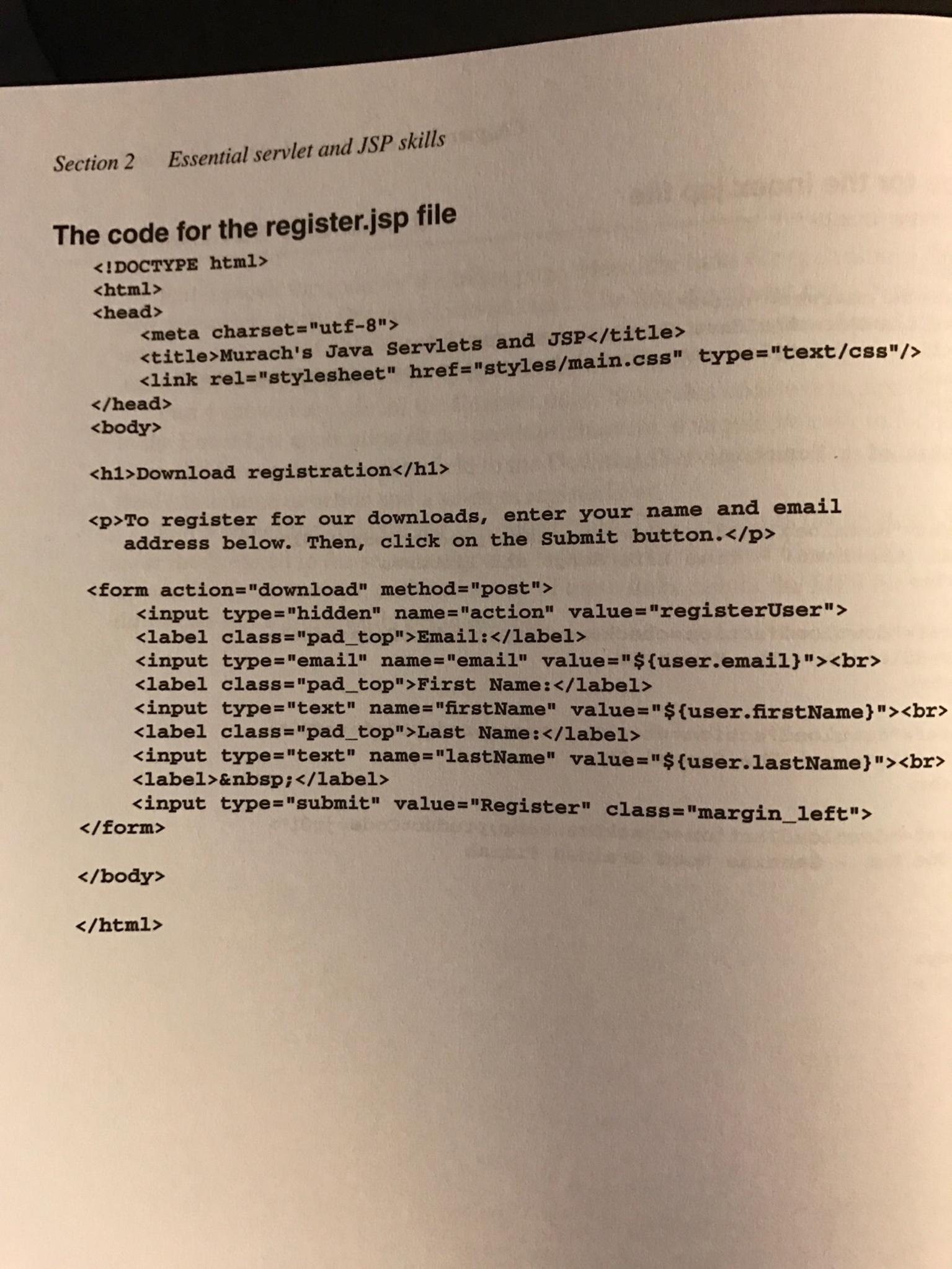 file download in java servlet example