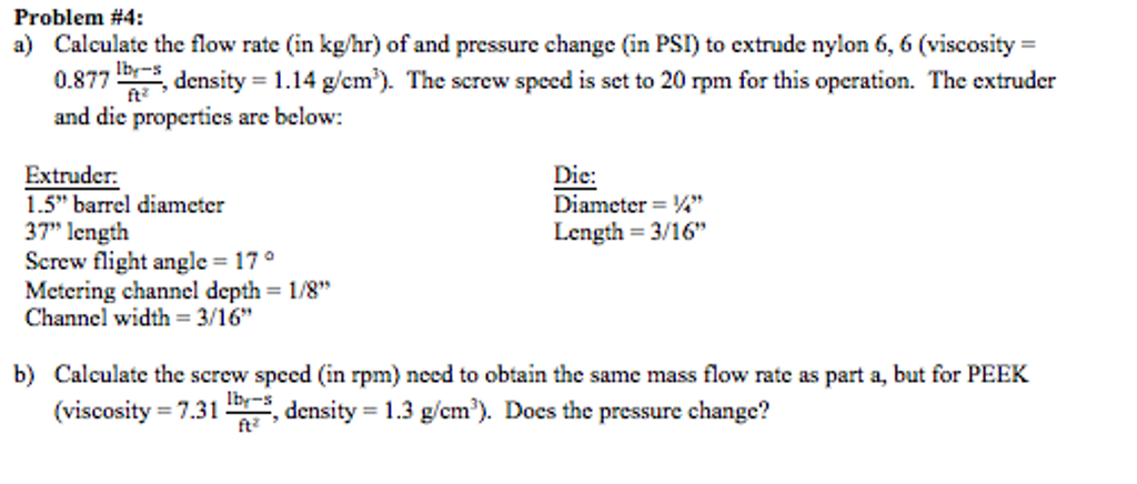 Calculate The Flow Rate (in Kg/hr) Of And Pressure