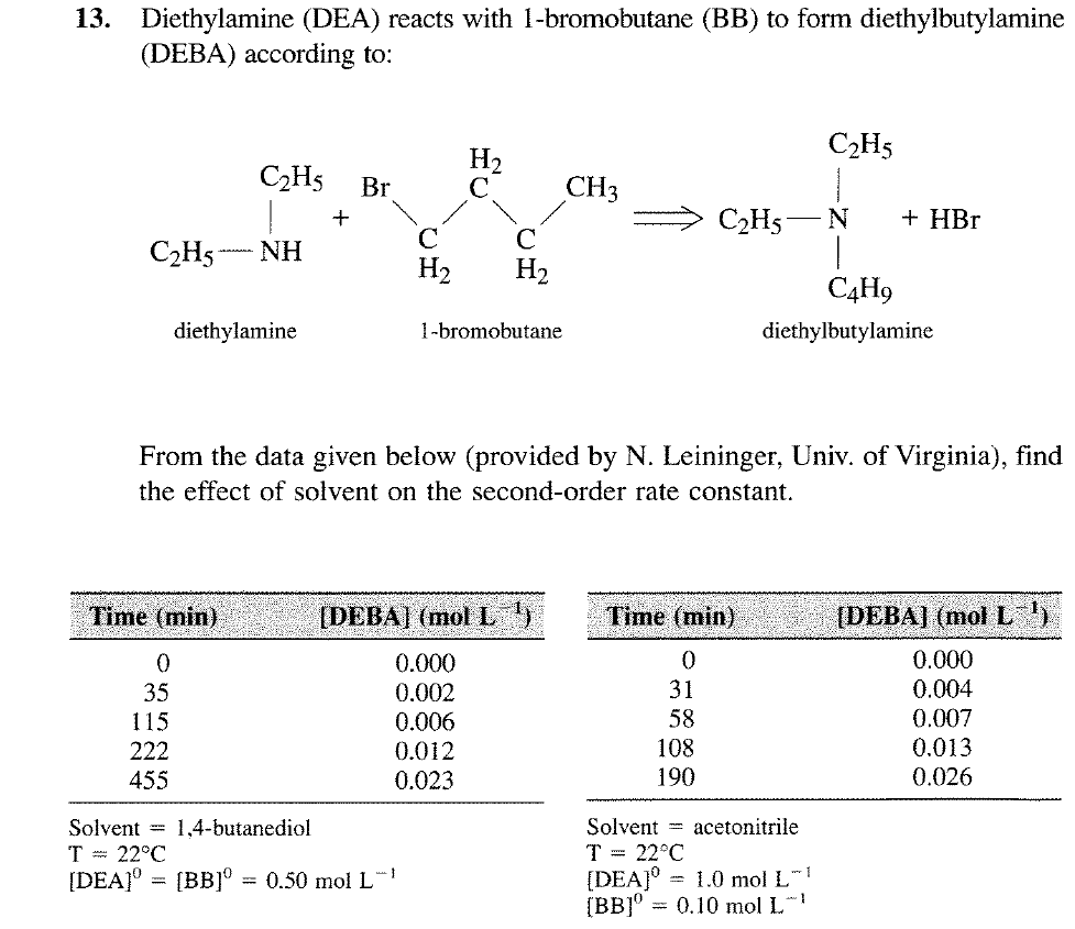 Solved: thylamine (DEA) Reacts With 1-bromobutane (BB ... on examples of catalog order forms, blank order forms, north carolina restraining order forms, emergency physician order forms, printable order forms, x-ray order forms, understanding order forms,