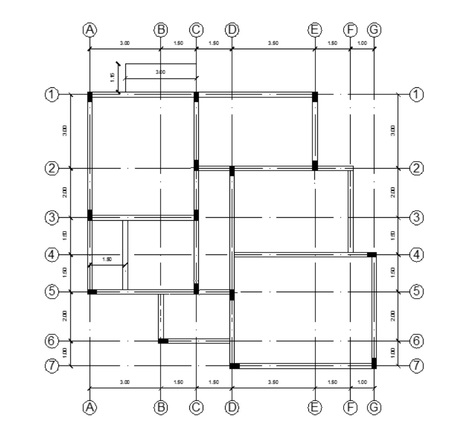 The Figure Below Shows A Structural Plan Of A Typi
