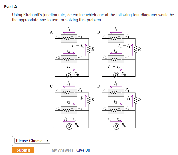 Solved The Circuit Diagram Below Shows Two Emf Sources An