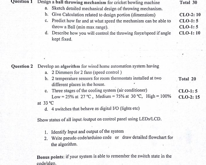 Answer The Following Questions Write Each Formula