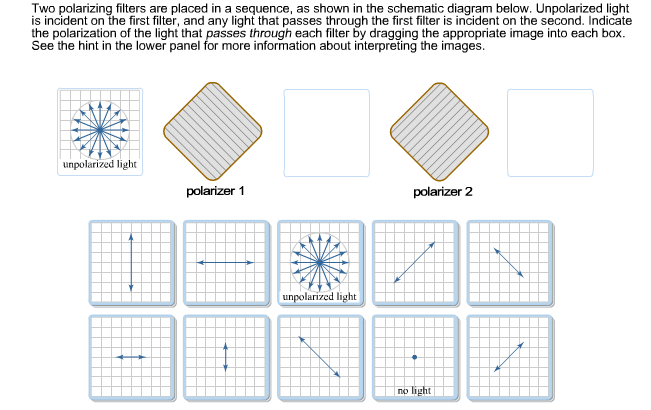 Solved: Two Polarizing Filters Are Placed In A Sequence, A ...