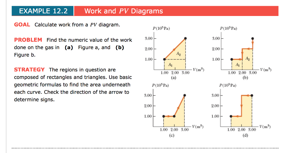 Solved example 122 work and pv diagrams goal calculate w example 122 work and pv diagrams goal calculate work from a pv diagram p10p ccuart Choice Image