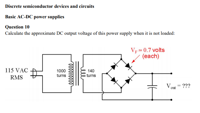 Solved: Discrete Semiconductor Devices And Circuits Basic