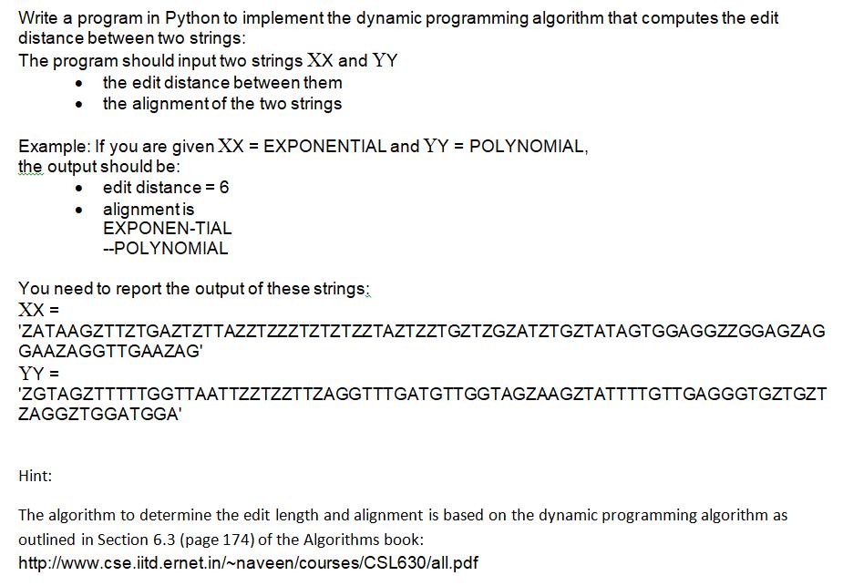 Python Program*** Reposting The Question Since    | Chegg com