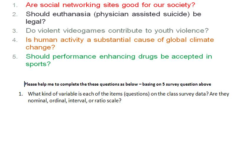 social questions and answers