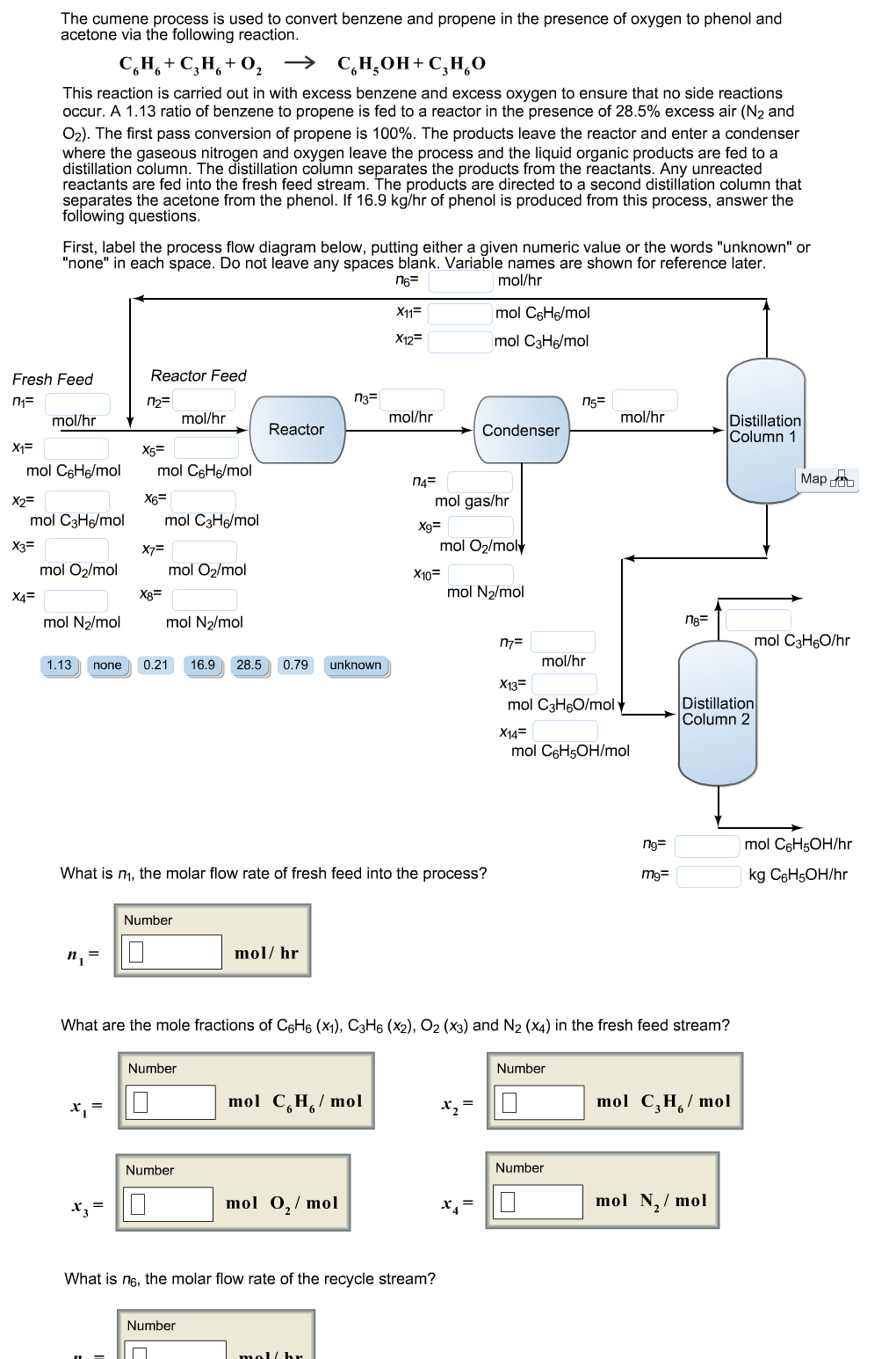 The Cumene Process Is Used To Convert Benzene And